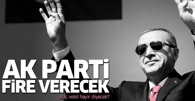 'AK Parti'den 20 isim başkanlığa 'hayır' diyecek'