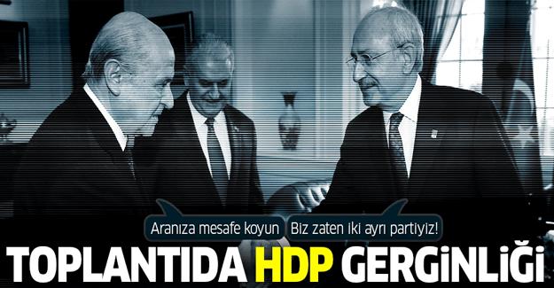 Bahçeli-Kılıçdaroğlu arasında HDP diyaloğu