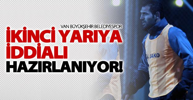 BŞB Vanspor İkinci yarıya Antalya'da hazırlanıyor