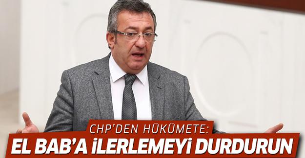 CHP'den hükümete El Bab uyarısı: Durun!