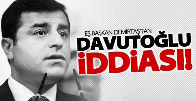 Demirtaş: O polis Davutoğlu döneminde işe alındı