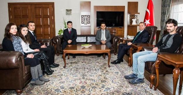 İl Göç İdaresi personeli, Vali Taşyapan'ı ziyaret etti