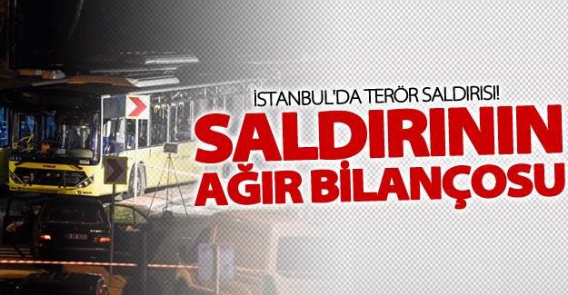 İstanbul'daki saldırının ağır bilançosu