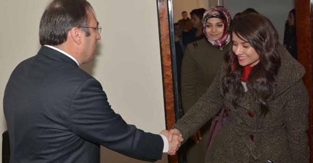 Öğretmenlerden Çatak Kaymakamı Akgül'e ziyaret