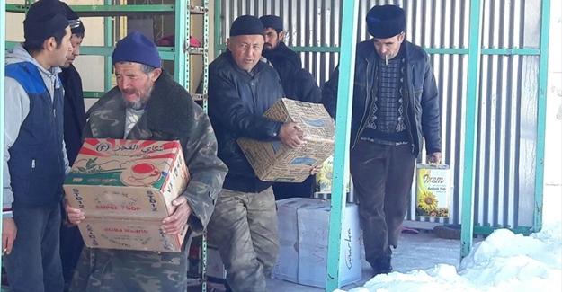 Van'daki Kırgızlardan Halep'e yardım