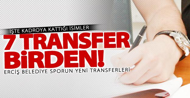 Erciş Belediye Sporun yeni transferleri