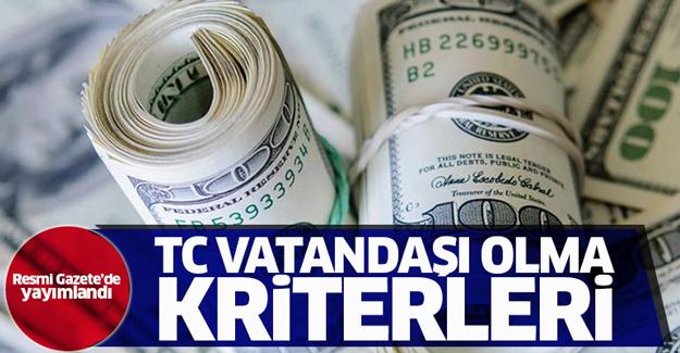 Ev alana, yatırım yapana Türk vatandaşlığı