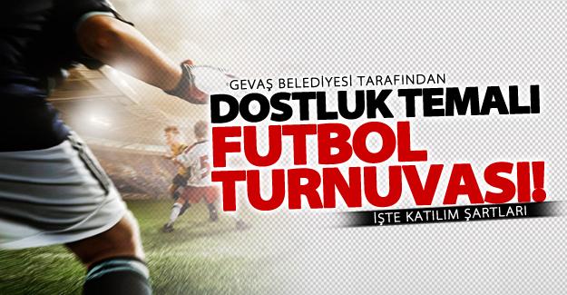 Gevaş Belediyesi futbol turnuvası! İşte başvuru şartları