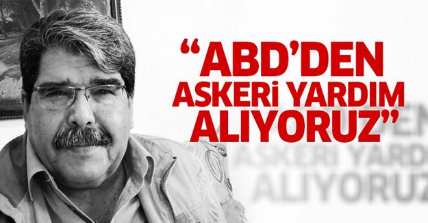 PYD lideri Salih Müslim: ABD'den askeri yardım alıyoruz