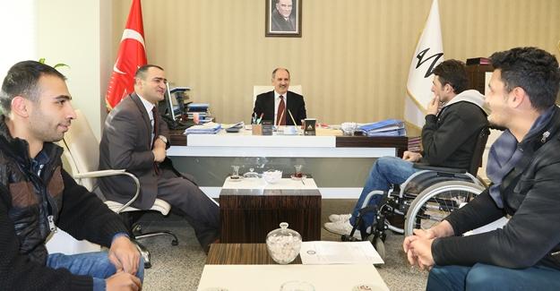 Van Büyükşehir Belediyesi Genel Sekreterine ziyaretler sürüyor