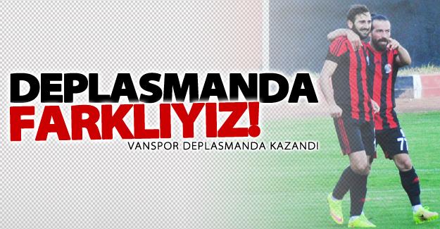 Van Büyükşehir Belediyespor deplasmanda kazandı