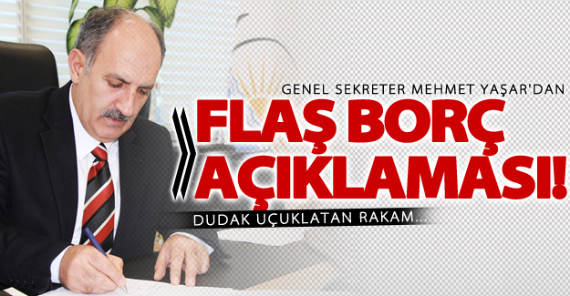 Van Büyükşehir'den flaş yeni borç açıklaması!