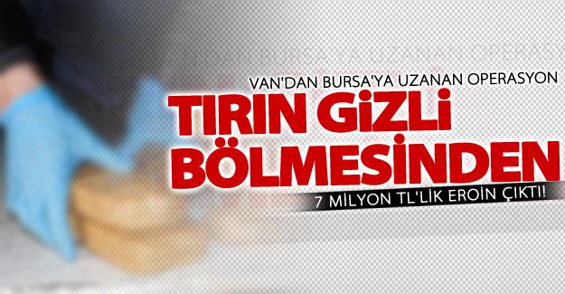 Van'da Bursa'ya uzanan operasyon! 2 kişi gözaltına alındı