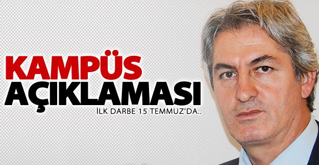 Van milletvekili Botan'dan flaş 'Kampüs' açıklaması