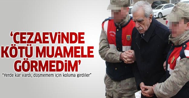 Ahmet Türk: Cezaevinde kötü muamele görmedim