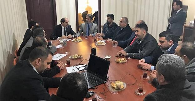 Ak Parti İl Başkanı Zahir Soğanda'dan Van STK'ya ziyaret
