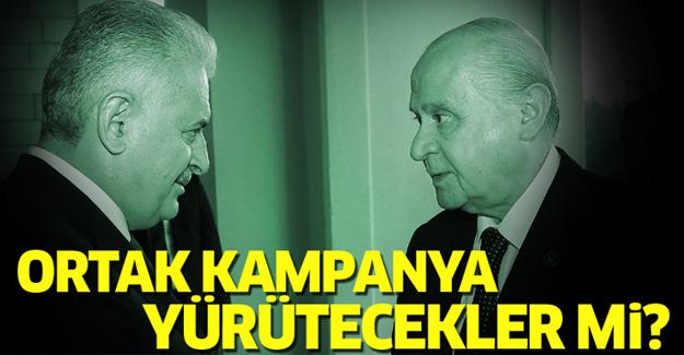 Ak Parti ve MHP ortak kampanya yürütecek mi?