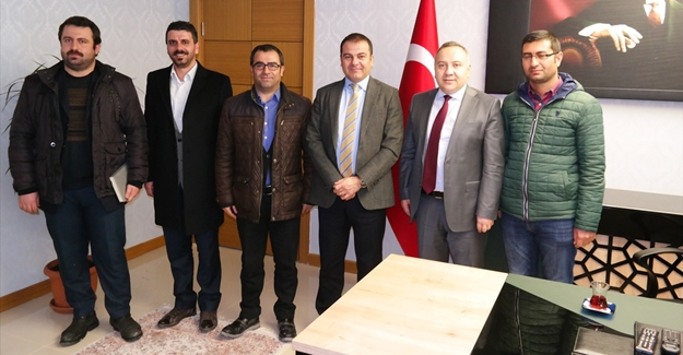 Aktivistlerin Kaymakam Yaşar'ı ziyareti