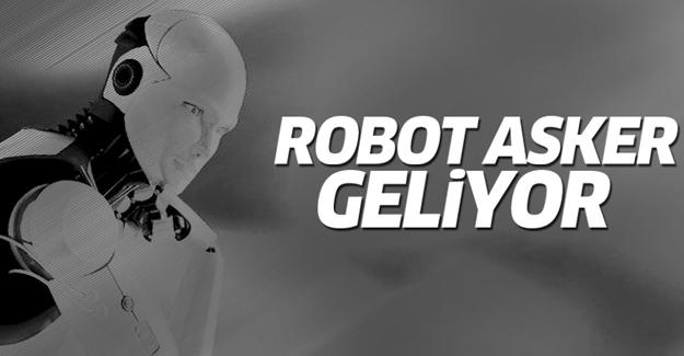 Bakan Özlü: Robot asker çok yakın