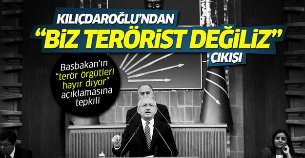 Kılıçdaroğlu'ndan Binali Yıldırım'a 'hayır' tepkisi