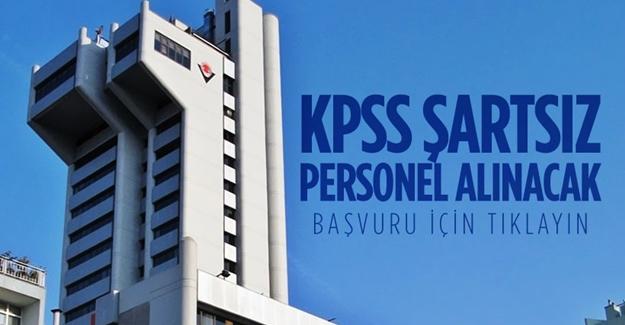TÜBİTAK KPSS'siz personel alıyor