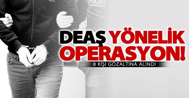 Van'da DEAŞ operasyonu! 8 gözaltı