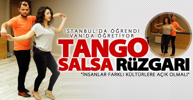 Van'da tango ve salsa rüzgarı