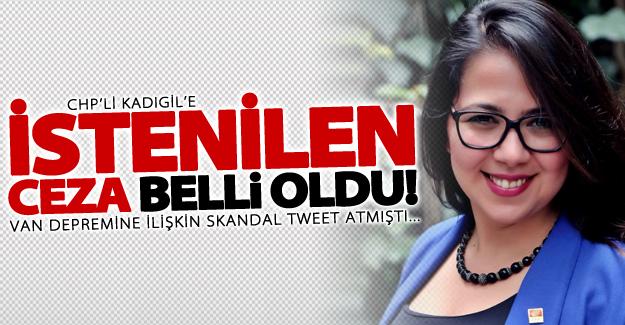 Van depremi ilgili skandal tweet atmıştı! İşte istenilen ceza...
