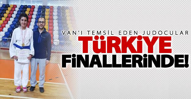 Vanlı judocular Türkiye finallerinde