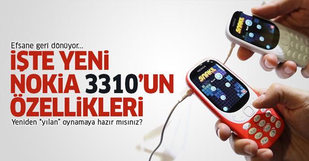 2017 Nokia 3310 tanıtıldı! Satış fiyatı ve tüm özellikleri