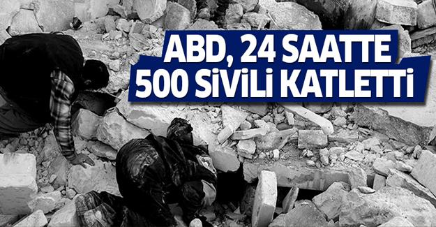 ABD, son 24 saatte 500 sivili katletti