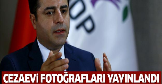 Demirtaş'ın cezaevi fotoğrafları yayınlandı