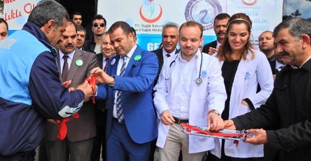 Erciş'te mobil sigara bırakma polikiliniği açıldı