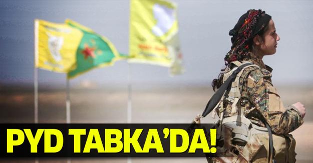 PYD Tabka'da!