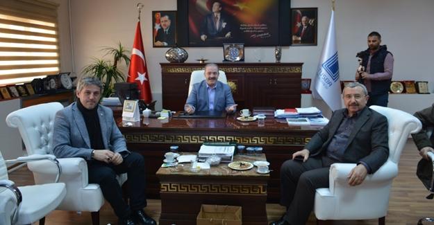 Sancaktepe Belediyesi'nden Tuşba Belediyesine ziyaret