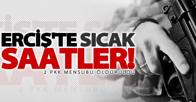 Van'da çatışma! 2 PKK mensubu öldürüldü