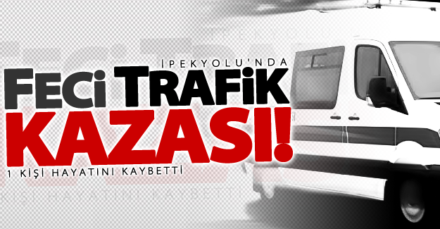 Van'da feci trafik kazası! 1 ölü