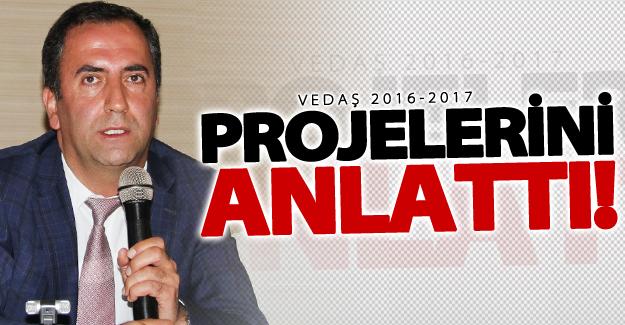 VEDAŞ 2016-2017 projelerini anlattı!