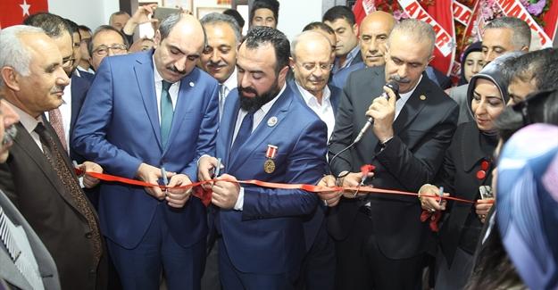 Gazi ve Şehit Aileleri Yardımlaşma Vakfı Van Temsilciği açıldı