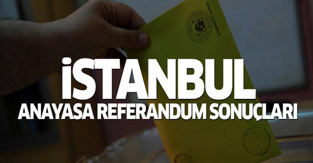 İstanbul anayasa referandum sonuçları 2017