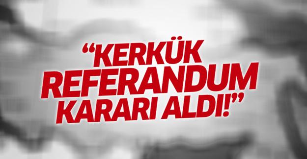Kerkük İl Meclisi, IKBY'ye bağlanmak için referandum kararı aldı
