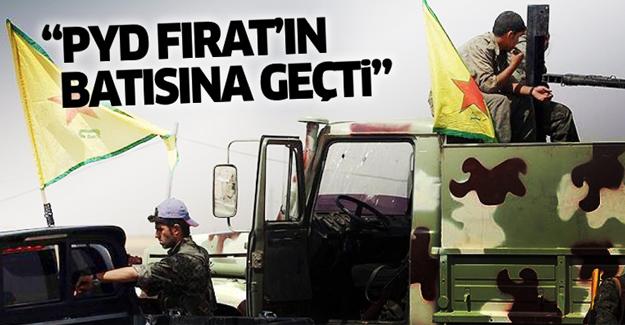 'PYD Fırat'ın batısına geçti'