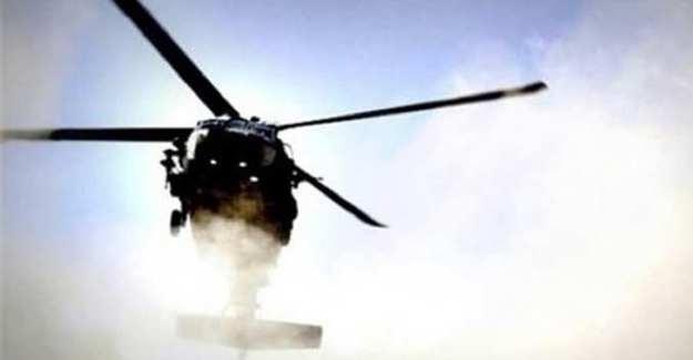 SON DAKİKA! Polisleri taşıyan helikopter düştü