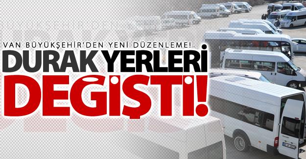 Van Büyükşehir Belediyesinden kent ulaşımına yeni düzenleme!