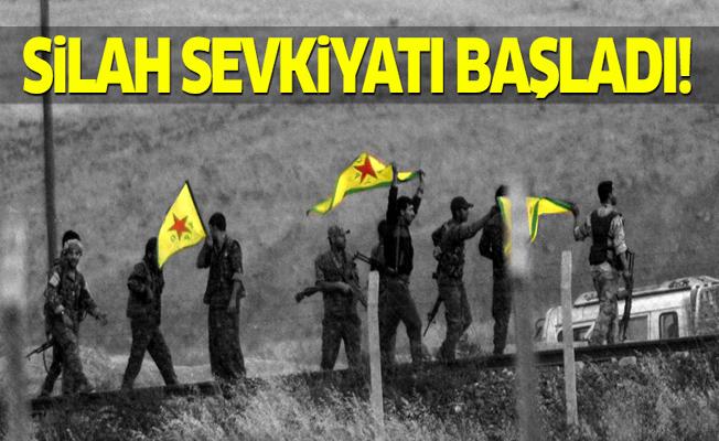 ABD, YPG'ye silahları göndermeye başladı