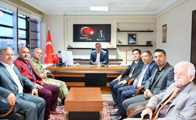 Başkan Vekili Öztürk'e Nezaket Ziyareti