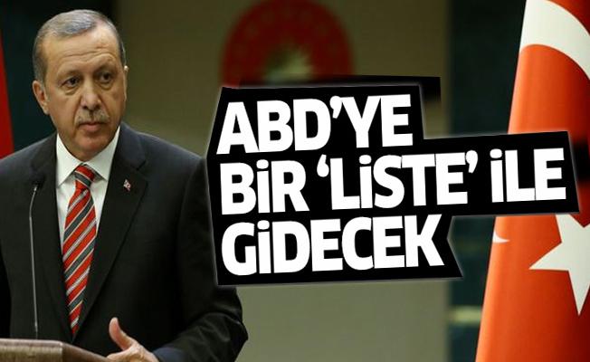 'Erdoğan Trump'a bir 'liste' ile gidecek'