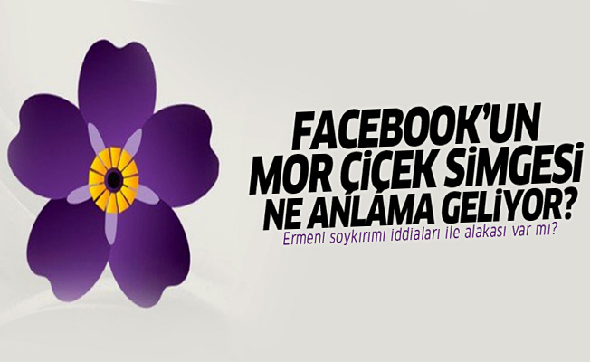 Facebook'un Mor Çiçek Simgesi ne anlama geliyor?