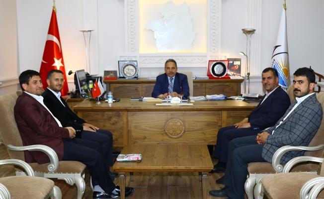 Hüda-Par'dan Genel Sekreter Yalçın'a ziyaret