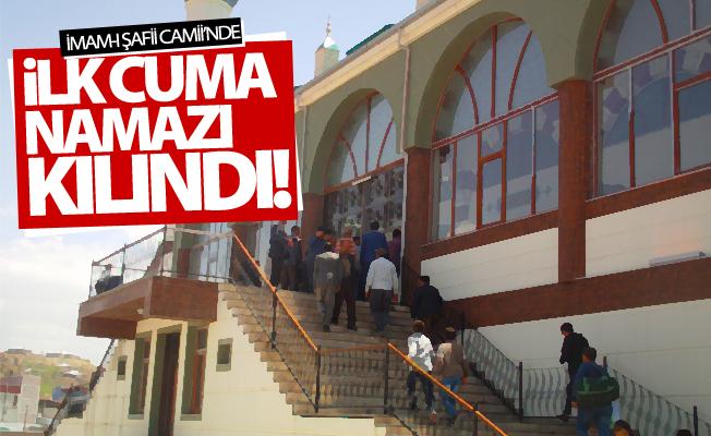İmam-ı Şafii Camii'nde ilk cuma namazı